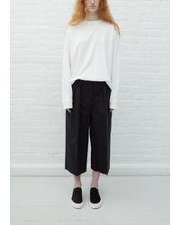 The Row Lisa Shorts - Black