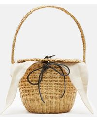 Muuñ - Lou Straw Bag - Lyst