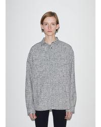 Totême Novella Shirt Jacket - Grey
