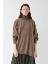 Maison Margiela Gauge 12/distorted Basic Sweater - Brown
