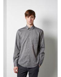 Hope Roy Pocket Shirt - Gray