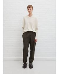 Casey Casey Linen & Wool Fab Pant - Multicolour