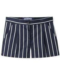Jacquemus - Striped Shorts - Lyst