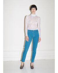 Eckhaus Latta After Depression Blue El Jeans