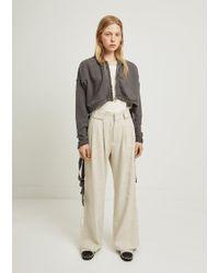 Hope - Brag Linen Cotton Trousers - Lyst