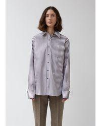Wales Bonner - Classic Striped Pocket Shirt - Lyst