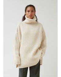 Acne Studios New Disa Sweater - White