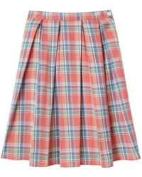Boy by Band of Outsiders - Madras Skirt - Cancelled - Lyst