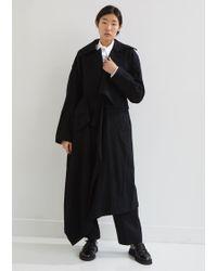 Yohji Yamamoto - Wool Origami Coat - Lyst