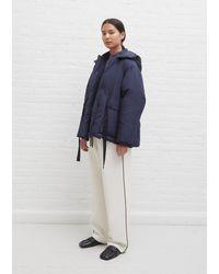 Sara Lanzi Down Puffer Jacket - Blue