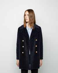 Band of Outsiders - Flurry Leopard Peacoat - Lyst