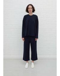 6397 Cut Wide Leg Sweatpant - Blue
