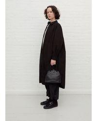 Y's Yohji Yamamoto Clasp Bag - Black
