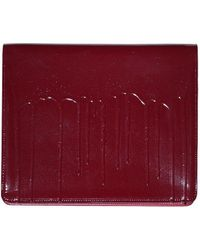 Maison Margiela Paint Drip Clutch - Red