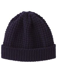 Peter Jensen - Waffle Knit Hat - Lyst