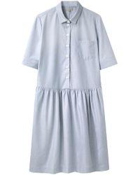 Margaret Howell - Drop Waist Shift Dress - Lyst
