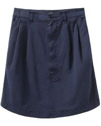 Zucca - Washed Pleated Skirt - Lyst