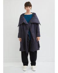 Issey Miyake - Square Short Padded Coat - Lyst