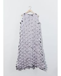 Issey Miyake Frost Dress - Purple