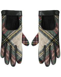 Rag & Bone Quilted Driving Gloves - Black
