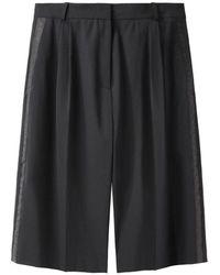 Acne Studios Keen Suit Slouchy Long Shorts - Black