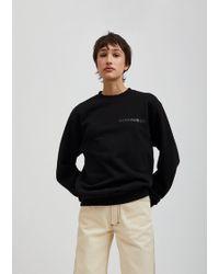 Eckhaus Latta - Cotton Sweatshirt - Lyst
