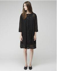 Zucca - Chiffon Dot Dress - Lyst