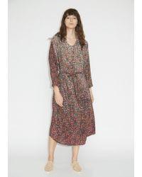 Anntian - Shawly Long Silk Dress - Lyst