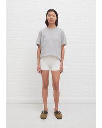 Extreme Cashmere N°179 Summer Cashmere Short - Grey