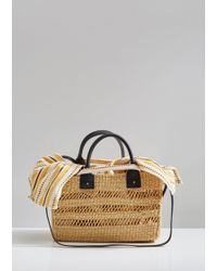 Muuñ - Charlotte Straw Bag - Lyst