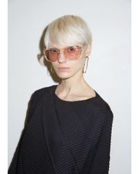 Céline - Translucent Acetate Sunglasses - Lyst