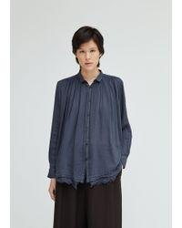 Pas De Calais - Cotton Shirt Blouse - Lyst