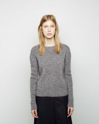 Band of Outsiders - Cropped Sweater - Lyst
