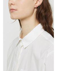 Julien David - Pierce Hoop Earrings - Lyst
