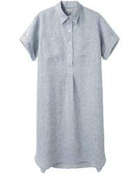 Margaret Howell - Big Pocket Shirtdress - Lyst
