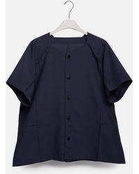 132 5. Issey Miyake - Flat Shirt - Lyst