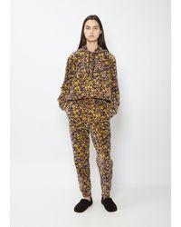 6397 Floral Sweatpant - Multicolour