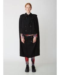 Comme des Garçons Jersey Rose Print T-shirt & Leggings Set - Black