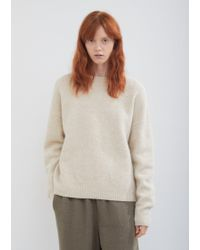 Lauren Manoogian - Cashmere Crewneck Sweater - Lyst