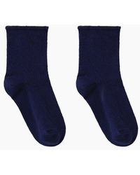 A.P.C. - Perforated Socks - Lyst