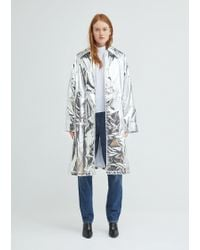 MM6 by Maison Martin Margiela - Reflective Trench - Lyst