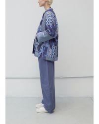 Henrik Vibskov Pipette Quilted Jacket - Blue