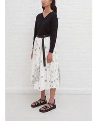 Sacai Bandana Opal Skirt - Multicolour