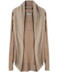 Tsumori Chisato - Fleece Jersey Cardigan - Lyst