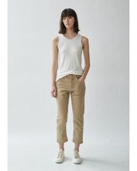6397 Shorty Jeans - Natural