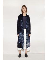 Y's Yohji Yamamoto - Tie Dye Big Coat - Lyst