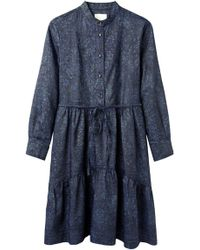 Girl by Band of Outsiders - Denim Day Dress - Lyst