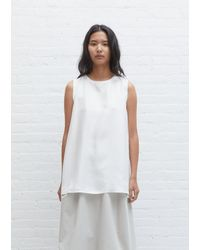 Sofie D'Hoore Bless Silk Twill Top - White