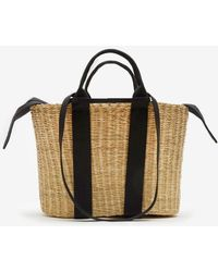 Muuñ - Medium Caba Straw Bag - Lyst