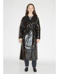 Totême  - Mira Lacquered Coat - Lyst